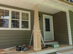 Craftsman style column instructions