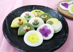 Gâteaux coréens, Les Hwajeon (화전) | Kimshii