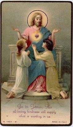 Sagrado Corazón y los niños