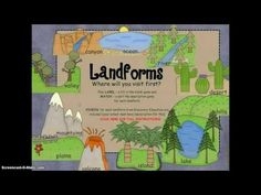 Looking for a fun way to introduce Landforms with videos & games?  Check out this PREVIEW for a Landforms Smartboard activity.    http://www.teacherspayteachers.com/Product/Landforms-SMARTboard-interactive-activity-games-and-Discovery-Education-links