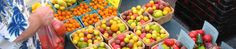 Sun Gold & other cherry tomatoes at South of the James Farmer's Market