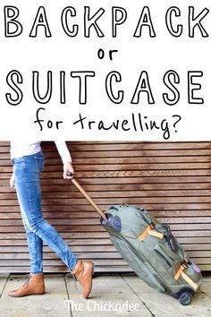 Do you need a backpack or a suitcase for travelling? There are pros and cons of each, but I suggest you buy neither... or rather, both... here's why to get a Hybrid bag!