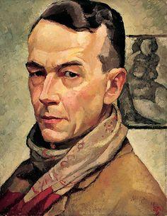 Holgate, Edwin - Autoportrait - Musée des beaux-arts de Montréal