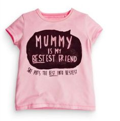 Mummy is my bestest friend  -  Kidooz - Hippe kids musthaves