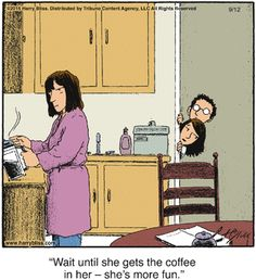 Coffee Humour by Harry Bliss