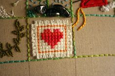 39-squares... like the x-stitch fabric stitched onto the background