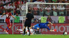 Petr Jiráček (Czech Rep.) - Czech Republic 1-0 Poland - Last Match Group A Knockout