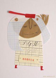 beautiful scrap of paper #2 by ana ventura, via Flickr