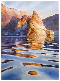 """Morning Near Hole In The Rock"" By David Drummond"