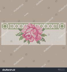 Tiny Cross Stitch, Baby Cross Stitch Patterns, Cross Stitch Heart, Cross Stitch Embroidery, Embroidery Patterns, Hand Embroidery, Baby Dress Patterns, Christmas Cross, Top Pattern