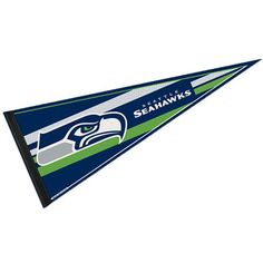 our seattle seahawks pennant is imprinted with seattle seahawk logos measures inches and is made of felt these seattle seahawks pennants are nfl licensed