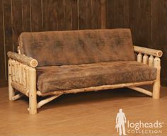 Image Detail For Size Dimensions Price Full Logheads Rustic Log Futon Mattress