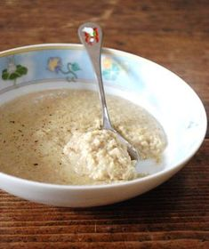 Bouillie au son d'avoine, porridge au son d'avoine
