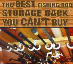 fishing rod storage ceiling fishing rod storage + fishing rod storage diy + fishing rod storage garage + fishing rod storage truck + fishing rod storage ceiling + fishing rod storage diy how to build + fishing rod storage wall + fishing rod storage ideas Fishing Pole Storage, Fishing Pole Holder, Best Fishing Rods, Pole Holders, Fishing Tips, Fly Fishing, Fishing Poles, Crappie Fishing, Fishing Tackle