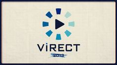 VIRECT logo animation.  This is my single work.  Enjoy~ :D  Music : Cubesato-brand momentum research 2012