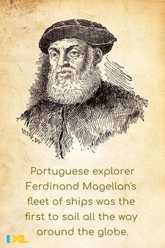 Ferdinand Magellan and his fleet reached Cape Virgines in Argentina #OnThisDay in 1520, making them the first known Europeans to sail into the Pacific Ocean! #TBT