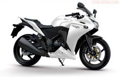Brian has been pinning stuff on MY account. This time it's really me.   White Honda CBR 250