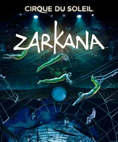 Zarkana - Cirque du Soleil   - Learn all about My First Hacked Travel Trip (to Las Vegas) and how I saved $1,023.88 http://travelnerdnici.com/first-hacked-travel-trip-las-vegas/ - Explore the World with Travel Nerd Nici, one Country at a Time. http://TravelNerdNici.com
