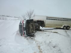 Vehicle Rolls on Side in Sanilac County