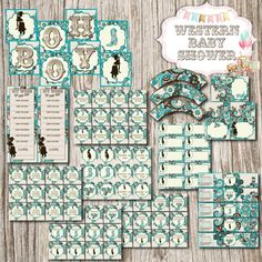 Western Baby Shower Package
