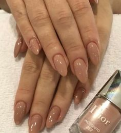 dior nails How to apply nail polish? Nail polish in your friend's nails looks perfect, but you can't apply nail polish as you wish? You may get gone nail p Nail Polish, Nail Manicure, Cute Nails, Pretty Nails, Hair And Nails, My Nails, Dior Nails, Nagel Blog, Jelly Nails