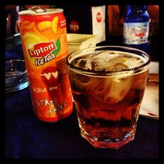 #buona_serata#lungomare#alghero#amici#friends#drink#thè#ghiaccio#pesca