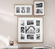 Wood Gallery Multiple Opening Frames #potterybarn