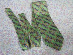 Jacques Estier Tie - Vintage Tie - Green Silk Necktie - Vintage Silk Necktie - Italian Silk Tie - Mens Necktie - Mens Tie - Green Silk Tie by MissieMooVintageRoom on Etsy
