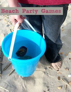 Beach Party Games For Kids: Throw the best beach bash ever!