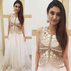 @RaginiKhanna at Ekta Kapoor's house for Ganesh Chaturthi Outfit - @riddhima_kollare Styled by @riddhitolia.styling ## #instylediaries #instastyle #fashion #fashionista #fashionblogger #celebrityfashion #celebstyle #beauty #fashiondesigner #fashion
