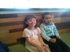 Jessica and funny face Luis