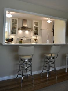 4 Respected Tips AND Tricks: Kitchen Remodel Wood Countertops kitchen remodel pantry stove.Small Apartment Kitchen Remodel new kitchen remodel ideas.Farmhouse Kitchen Remodel Before After. Kitchen Pass, Galley Kitchen Design, Galley Kitchen Remodel, Galley Kitchens, New Kitchen, Home Kitchens, Kitchen Ideas, Kitchen Photos, Kitchen Small
