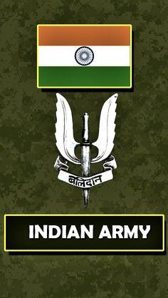 Indian Army Written Wallpaper