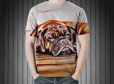 T-Shirt - Dog dogue de bordeaux mastiff https://www.donateprint.com/products/600000734686