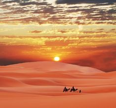 Sahara Desert, this is a breathtaking picture