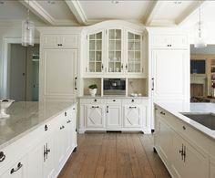 Classic Georgian Home Design - white kitchen