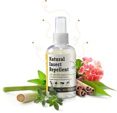 Natural Insect Repllant. A DEET-free, dermatologist tested insect repellent that uses the power of essential oils to keep bugs at bay. It is 99% effective against mosquitoes and ticks.