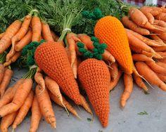 Crochet carrot | Fresh Produce Toys for Dogs.
