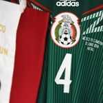 The shirt worn by Rafael Marquez of Mexico hangs in the dressing room