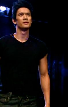 Harry Shum Jr.!! He looks JUST like how I pictured Magnus when I read the books OMG he's PERFECT.