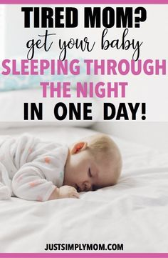Sleep training can be the most rewarding experience for a mom. Your baby will sleep through the night with this method I used to sleep train my 5 month old. 5 Month Old Sleep, 2 Month Old Baby, Baby Schlafplan, Get Baby, Baby Toys, Sleep Training Methods, Musik Player, Moms Sleep, Baby Sleep Schedule