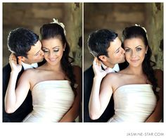 Wedding poses. I love these kind of photos where the eyes are.the.diff.