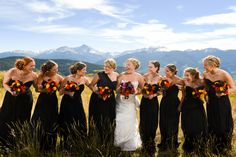 Jessica's wedding was breathtaking with the mountains of Vale, Colorado as her backdrop. Jessica | Brideside | Trystan Photography