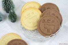 Rudolph-Cookies (super Teig für Keksstempel) - Schnin's Kitchen