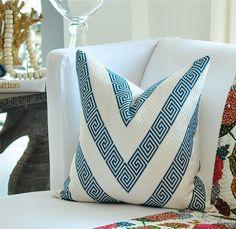 Nebaha Embroidery in Sky, 65791. http://www.fschumacher.com/search/ProductDetail.aspx?sku=65791 #Schumacher