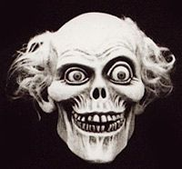 Haunted Mansion Ghost Head.