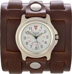 Extra Wide Cuff Watch - Three Straps