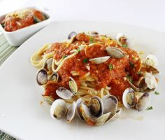 Espaguetis amb cloïsses #thermomix