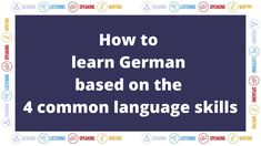 Foreign Language Teaching, Learn German, Writing, Amp, Motivation, Learning, Videos, Blog, German