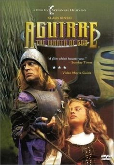 Aguirre: The Wrath of God Klaus Kinski, Ruy Guerra. Werner Herzog directed this surreal tale of a mad, power-hungry conquistador who leads a doomed expedition through Spain in search of a lost city of gold. Netflix Movies, Movie Tv, Seven Cities Of Gold, Werner Herzog, Movie Guide, Movie Covers, Tv Shows Online, Great Films, 16th Century